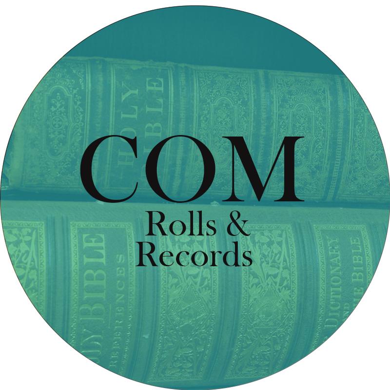 COM rolls & records circle
